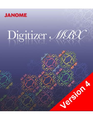 Logiciel Janome Digitizer MBX Version 4 - 254745100 JANOME - 1