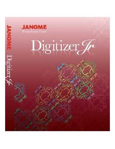 Logiciel Janome Digitizer Junior Version 4 - 254746101 JANOME - 1