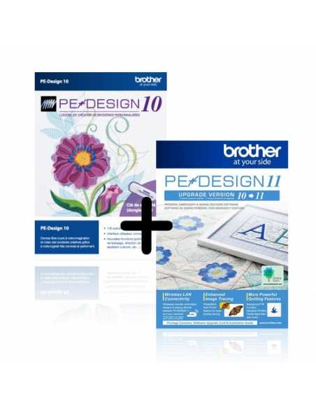 Mise à jour du BROTHER Pe-Design V5/6/7/8/Next vers Pe-Design 11 BROTHER - 2