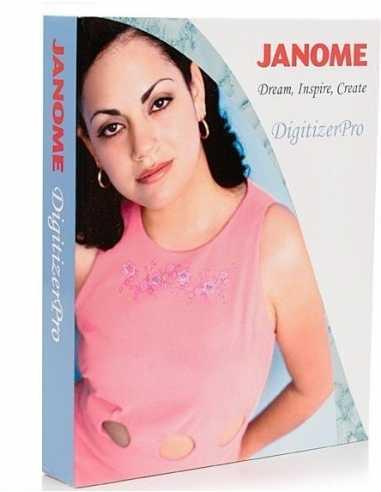 LOGICIEL JANOME DIGITIZER PRO JANOME - 1