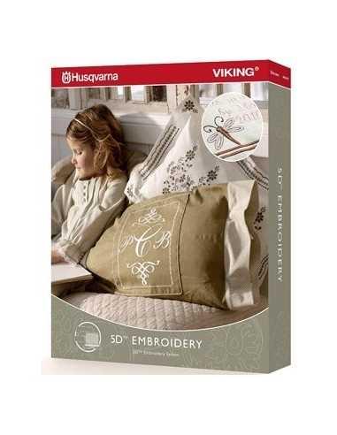 Logiciel de Broderie 5D Embroidery HUSQVARNA-VIKING - 1
