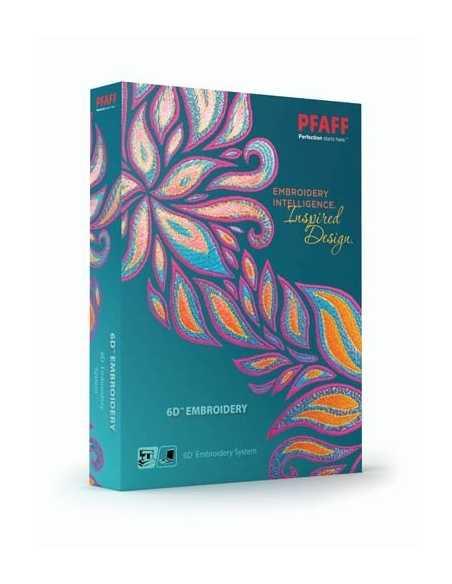 Logiciel PFAFF 6D Embroidery PFAFF - 1