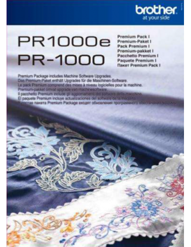 Mise à jour Premium Pack 1 Brother pour PR1000/PR1000e BROTHER - 1