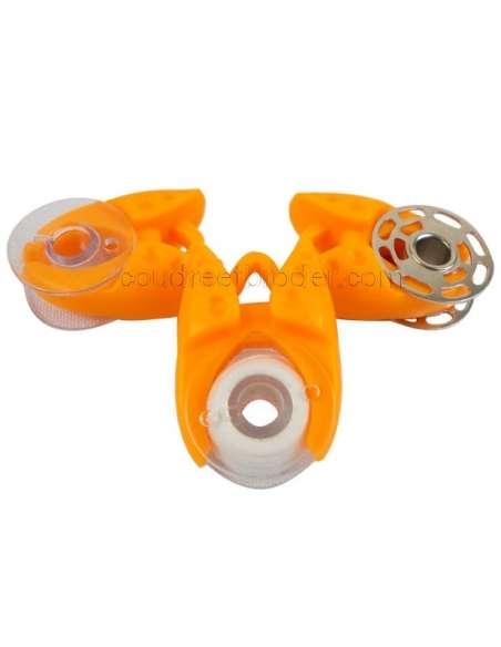 Sachet de 12 attrapes canette oranges - STA12  - 2