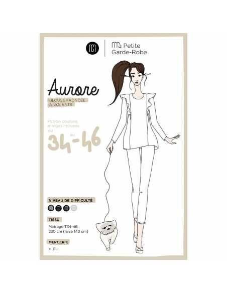 Blouse Aurore (patron pochette)  - 1