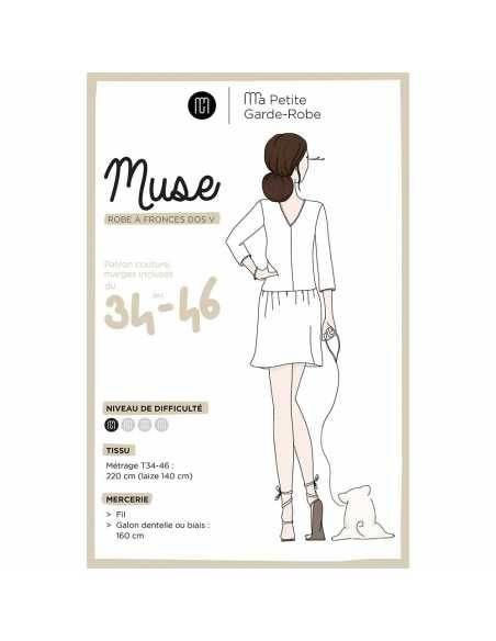 Robe Muse (patron pochette)  - 1