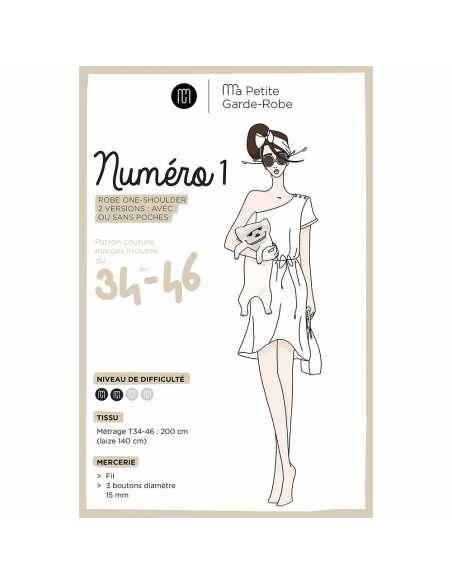 Robe Numéro 1 (patron pochette)  - 1