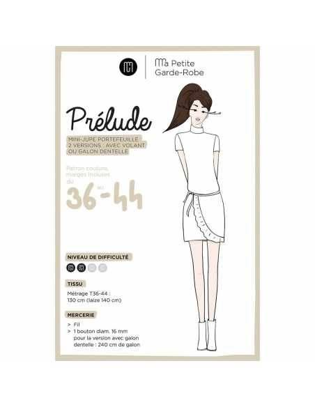 Patron pochette Jupe PRELUDE - Ma Petite Garde-robe  - 1