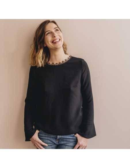 BOX Blouse Esquisse Noire - Créatrice Ma Petite Garde Robe MA PETITE GARDE ROBE - 2