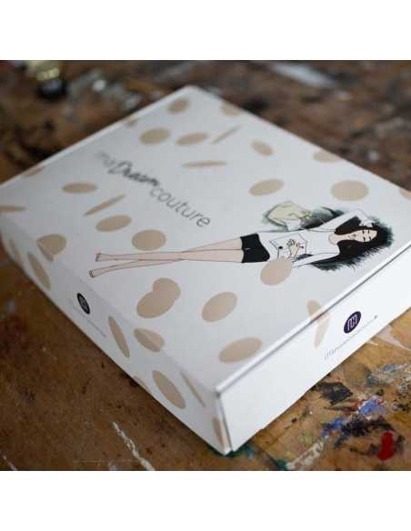 BOX Jupe Prélude Noire - Créatrice Ma Petite Garde Robe MA PETITE GARDE ROBE - 1