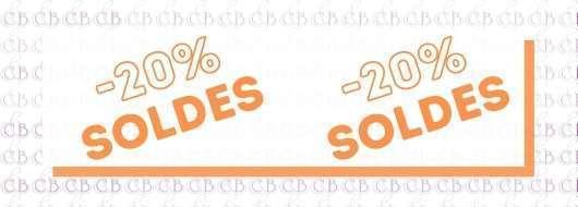 SOLDE -20%